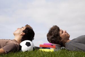 Bequemes Liegen oder Sitzen ermöglicht optimale Entspannung für die Visualisierung